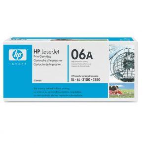 заправка картриджа HP C3906A