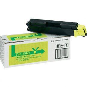 заправка картриджа Kyocera TK-590Y